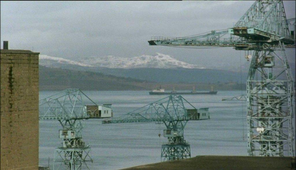 The Clyde shipyard...